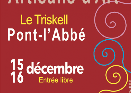 Marché de Noël le 15-16 décembre à Pont l'abbé (29)